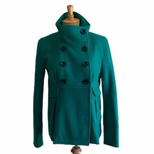 Old Navy Double Breasted Coat Green Size Medium